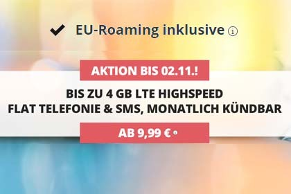 Premiumsim EU-Roaming Aktion