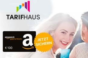 Deal – Tarifhaus Mobilfunk mit Gratis Kreditkarte und 100 Euro Amazon Gutschein