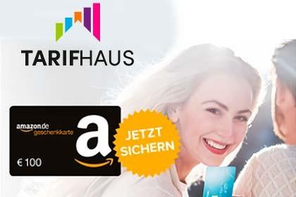 Tarifhaus - Amazon 100 Euro