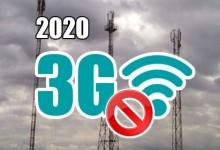 2020 - 3G abgeschaltet