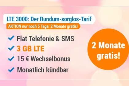simplytel - 2 Monate gratis