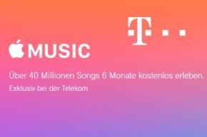 Apple Music Flatrate bei der Telekom ein halbes Jahr kostenlos