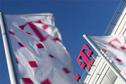 Telekom Building Flag