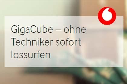 Vodafone - Giga Cube