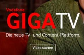 Vodafone GigaTV mit mehr HD im Stream und auf Abruf