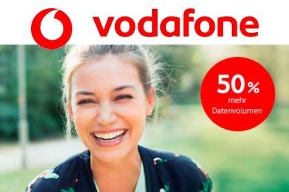 Vodafone - mehr Datenvolumen