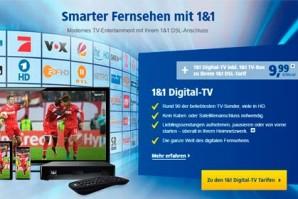 1&1 TV Box ist nun erhältlich – Neues TV Angebot von 1&1