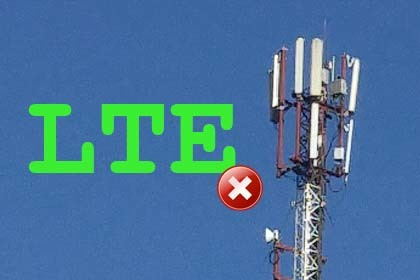 Kein LTE
