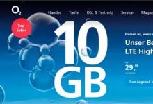 o2 Free - 10 Gb