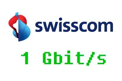 Swisscom - 1 Gbit/s