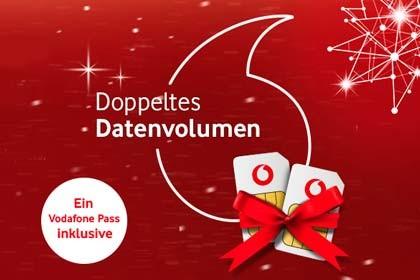 Vodafone Doppeltes Datenvolumen
