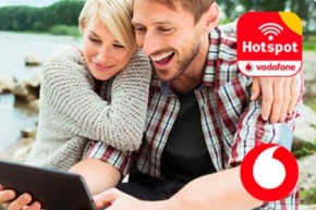 Vodafone betreibt nun satte 2 Millionen WLAN Hotspots