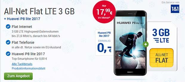 GMX - Huawei P8 Angebot