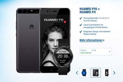 Huawei P10 + Huawei Fit