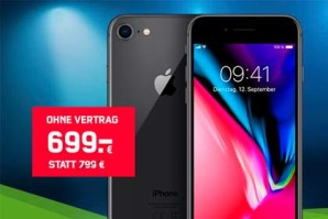 iPhone 8 – Bei mobilcom-debitel zum Bestpreis kaufen