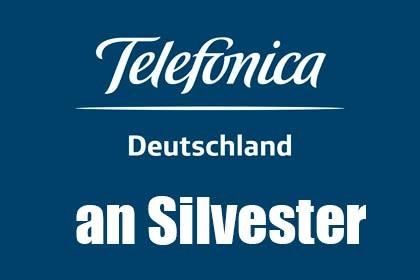 Telefónicas Kunden das Netz an Silvester