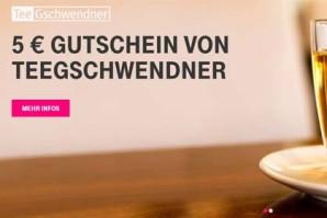 Telekom verschenkt Tee im Wert von 5 Euro an eigene Kunden