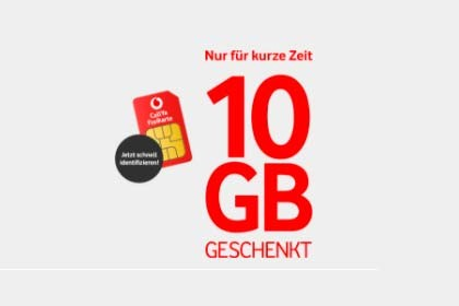 Vodafone CallYa - 10 Gb
