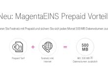 Prepaid Vorteil für MagentaEins Kunden