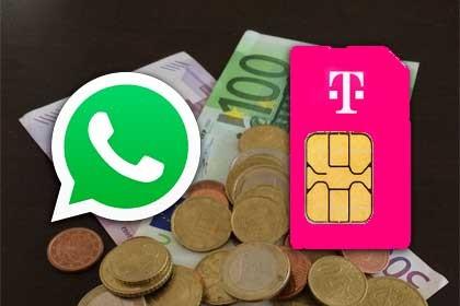 Telekom Prepaid-Aufladung nun auch auf WhatsApp verfügbar